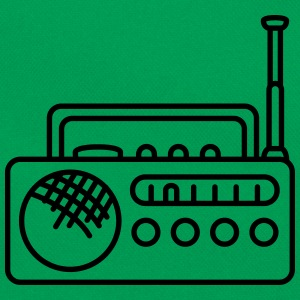 Radio T-shirts - Retroväska