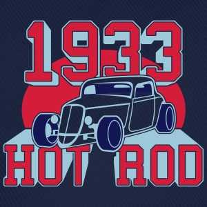 classic Hot Rod from 1933 T-shirts - Basebollkeps