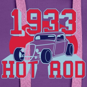 classic Hot Rod from 1933 T-shirts - Premiumluvtröja dam