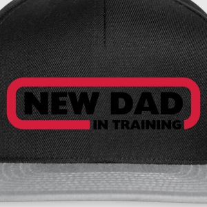 New Dad in Training T-Shirts - Snapback Cap