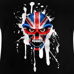 united kingdom skull Shirts - Baby T-Shirt