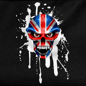 united kingdom skull Shirts - Kids' Backpack