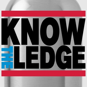 Know the Ledge T-Shirts - Water Bottle