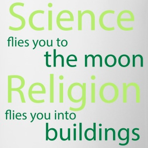 Science vs. Religion T-Shirts - Tasse