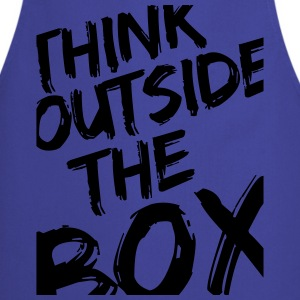 Think Outside The Box T-Shirts - Cooking Apron