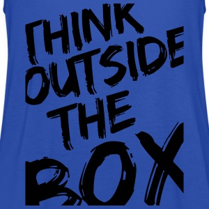 Think Outside The Box T-Shirts - Women's Tank Top by Bella