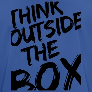 Think Outside The Box Sudaderas - Camiseta hombre transpirable