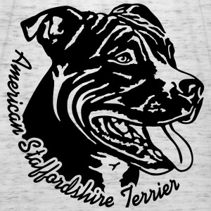 521 Staffordshire Terrier Pullover & Hoodies - Frauen Tank Top von Bella
