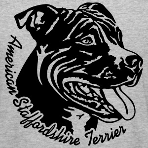 521 Staffordshire Terrier Pullover & Hoodies - Männer Slim Fit T-Shirt
