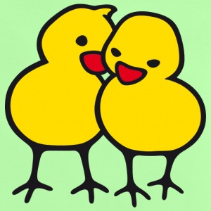 Chicks in Love - Baby-T-skjorte