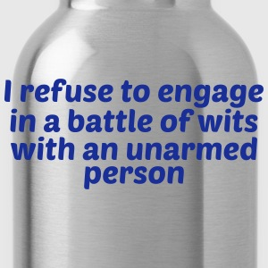 Battle of wits - Water Bottle
