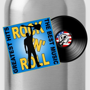 Rock 'n' Roll design 05 T-Shirts - Water Bottle
