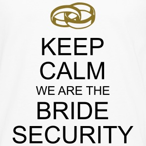 keep calm bride security T-Shirts - Männer Premium Langarmshirt