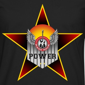 hard music power T-Shirts - Men's Premium Longsleeve Shirt