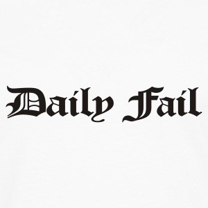 Daily Fail tshirt - Men's Premium Longsleeve Shirt