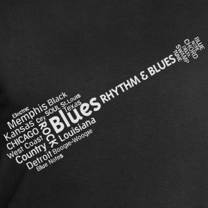 Blues tag cloud T-Shirts - Männer Sweatshirt von Stanley & Stella