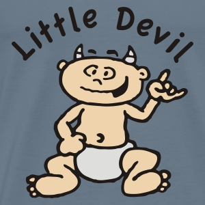Rot little_devil_c Baby Body - Männer Premium T-Shirt