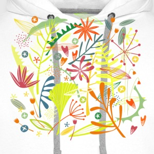 Tropical T-Shirts - Men's Premium Hoodie