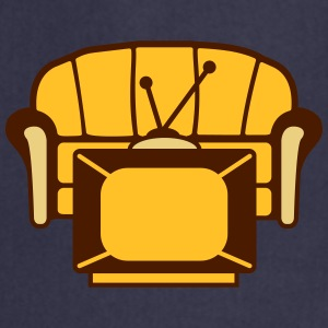 Couch And TV T-shirts - Förkläde
