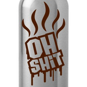 Oh Shit Graffiti T-Shirts - Water Bottle
