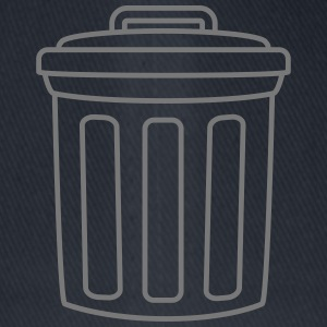 Garbage Can T-shirts - Flexfit baseballcap