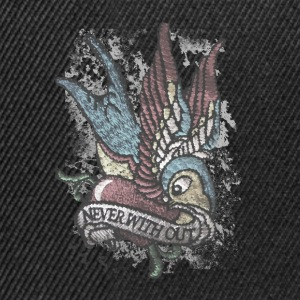 Tattoo Bird Vintage Distressed patjila Polo Shirts - Snapback Cap