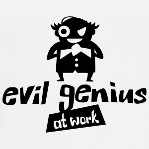 evil genius at work - Männer Premium T-Shirt