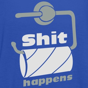 Shit happens - tom toiletrulle  T-shirts - Dame tanktop fra Bella