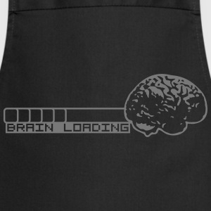 Brain Loading Camisetas - Delantal de cocina