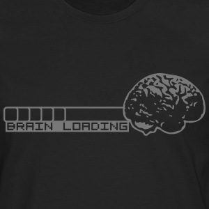 Brain Loading T-Shirts - Men's Premium Longsleeve Shirt