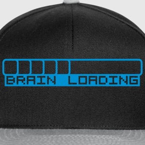 Brain Loading Bar T-skjorter - Snapback-caps