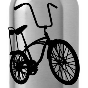 Blended grey old school retro bike Jumpers - Water Bottle