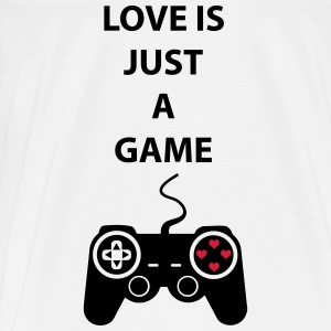 Love is just a game 2c Sweaters - Mannen Premium T-shirt