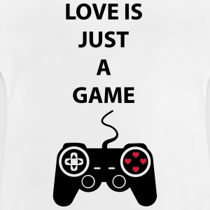 Love is just a game 2c Magliette - Maglietta per neonato