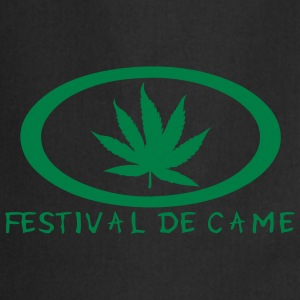 festival came feuille canabis drogue Tee shirts - Tablier de cuisine