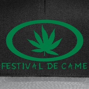 festival came feuille canabis drogue Tee shirts - Casquette snapback