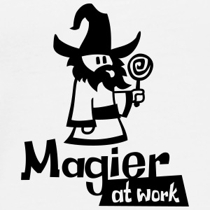 Mage at work - Männer Premium T-Shirt