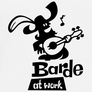 Barde at work - Männer Premium T-Shirt