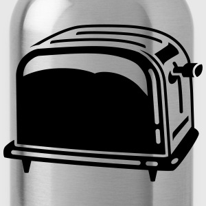 Toaster - toasteur - Grill - sandwich - Brot - 1C T-Shirts - Trinkflasche