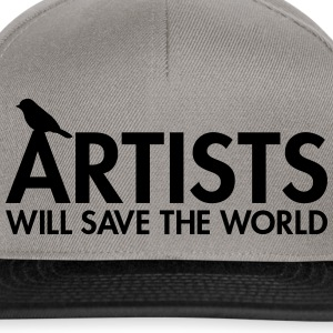 Artists will save the world Sacs - Casquette snapback
