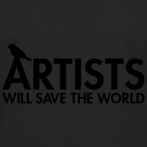 Artists will save the world Sacs - T-shirt manches longues Premium Homme