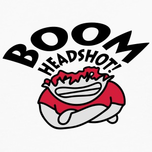 Boom Headshot T-Shirts - Men's Premium Longsleeve Shirt