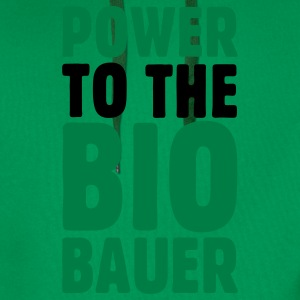Power to the Biobauer Bio T-Shirt - Männer Premium Hoodie