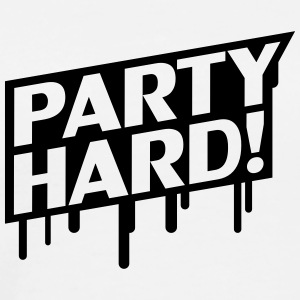 Party Hard Graffiti Gensere - Premium T-skjorte for menn