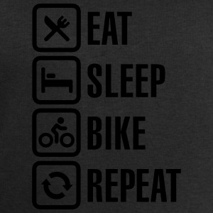 Eat, sleep, bike Shirts - Mannen sweatshirt van Stanley & Stella