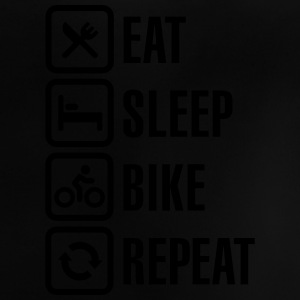 Eat, sleep, bike Shirts - Baby T-shirt