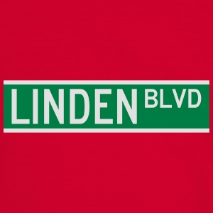 LINDEN BLVD SIGN Bags & backpacks - Men's Ringer Shirt
