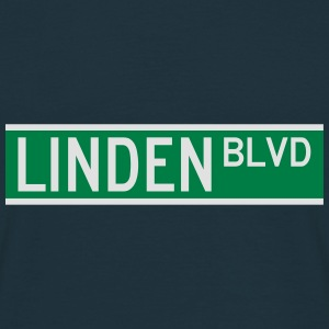 LINDEN BLVD SIGN Caps & Hats - Men's T-Shirt