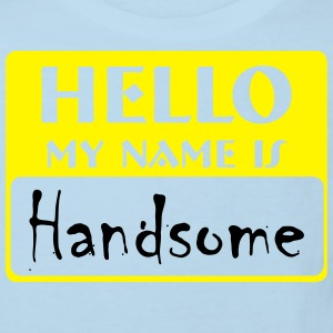 my name is handsome Hoodies - Kids' Organic T-shirt