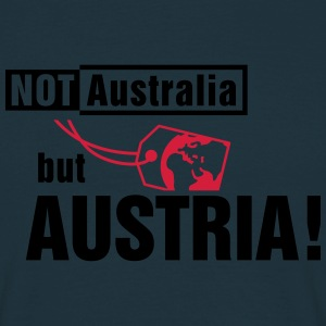 Not Australia but Austria  Aprons - Men's T-Shirt